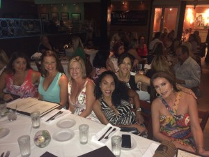 Boca Raton, Florida ladies supporting dog rescue fundraiser