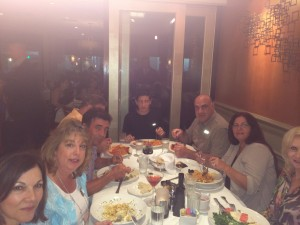 Donor dinner for dog rescue group