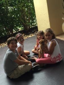 children, puppy, event, adoption