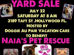 Yard sale, rescue, fundraiser